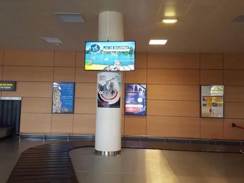 écran aéroport pau